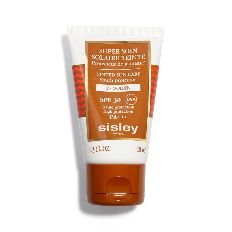 Image of Sisley Crème Solaire Visage Super Soin Solaire Tinted Sun Care SPF30 N°2 Golden