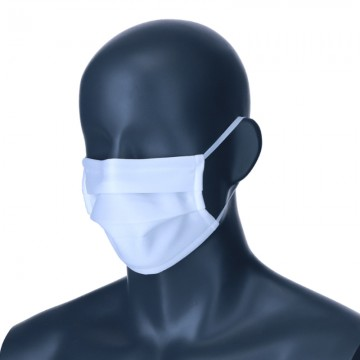Mask Reusable Hygienic Approved White Design