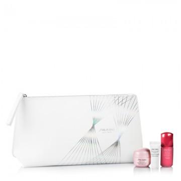 Regalo Shiseido Silver Stripes Pouch