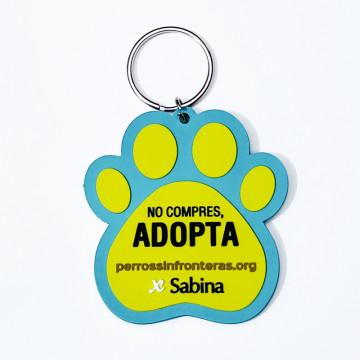Solidariteit Sleutelhanger Honden Zonder Grenzen