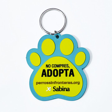 Solidarity Keychain Dogs Without Borders