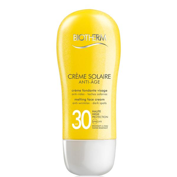 Creme Solaire Visage Antiage SPF 30