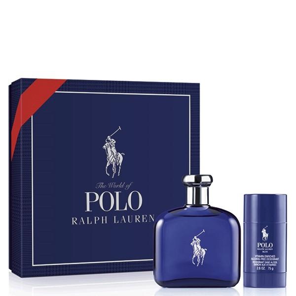 PERFUME SET FOR MEN RALPH LAUREN POLO BLUE SET 9e0afef87a58
